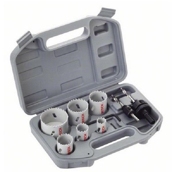 BOSCH Coffret électricien 9 pièces scies-trépans - 2608580868