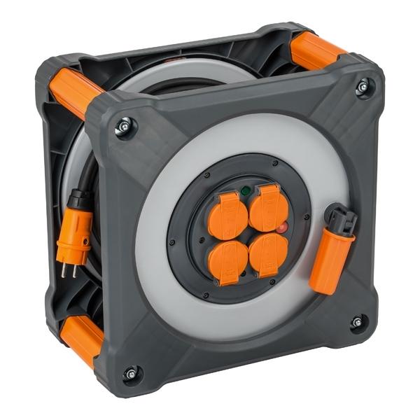 BRENNENSTUHL Enrouleur cube 40m IP44 2.5mm² - 9202401100