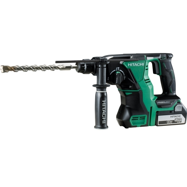 HITACHI Perforateur burineur SDS-Plus 18V 5Ah - DH 18DBL 5A