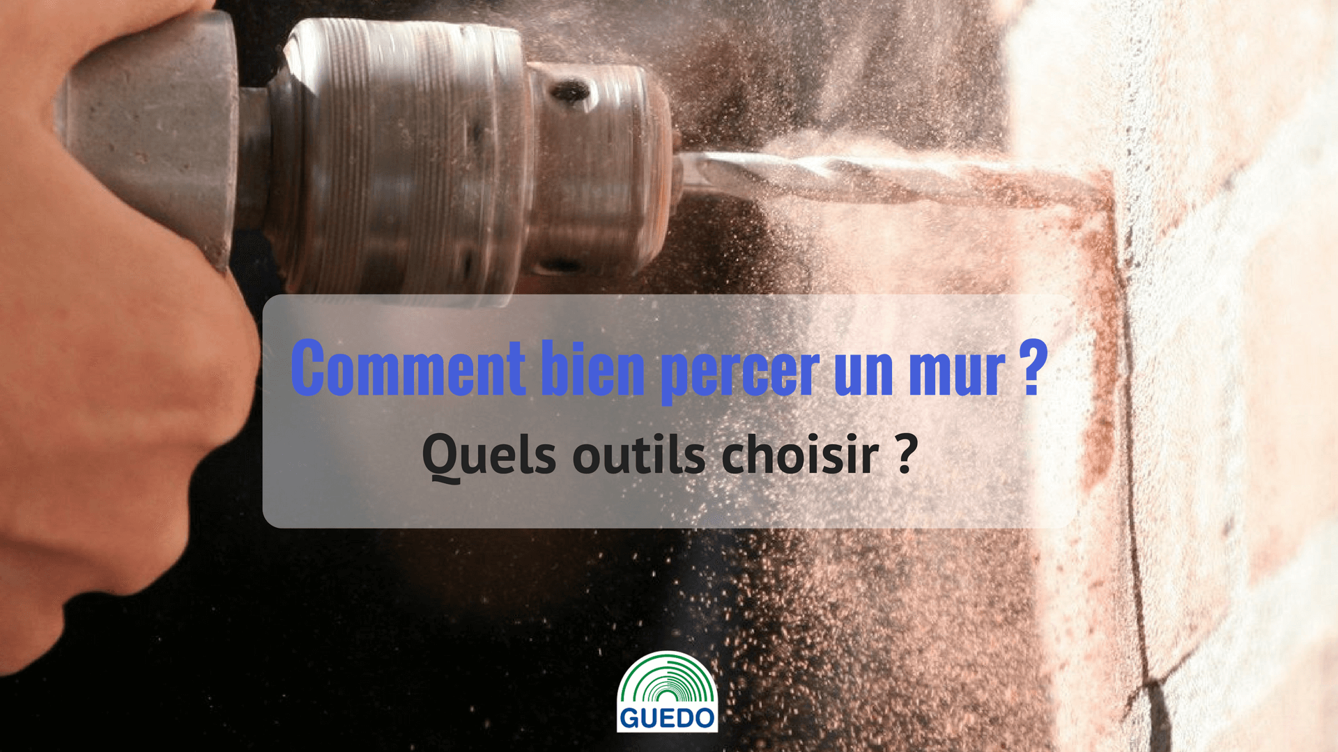 perforateur perceuse comment bien percer son mur