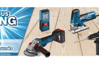 Offre Bonus Bang : faites des économies sur des outils Bosch