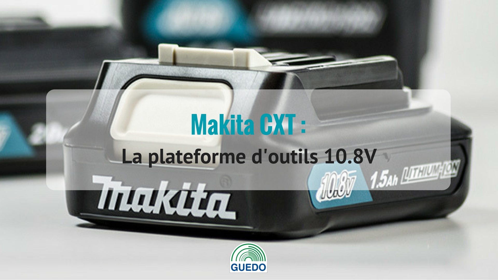 PLaterforme d'outils 10.8V Makita