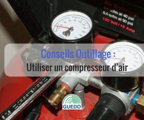 comment utiliser un compresseur d'air