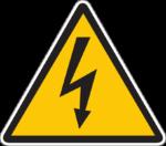 Danger électrique temporaire
