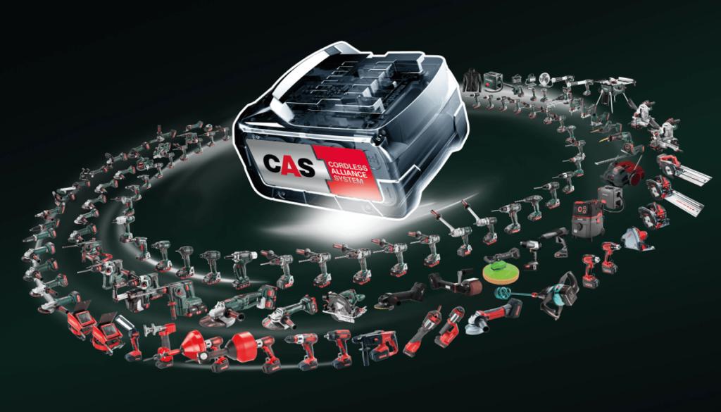 CAS, compatible avec plus de 120 machines