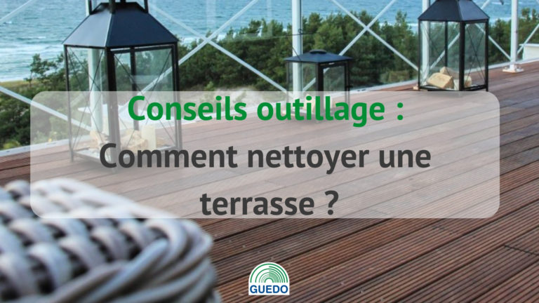comment nettoyer une terrasse