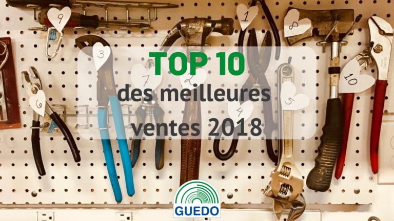 Top 10 des meilleures ventes 2018
