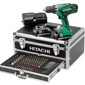 HITACHI - HIKOKI Perceuse Visseuse 18V 2,5Ah + 100 accessoires - KC18DJLF