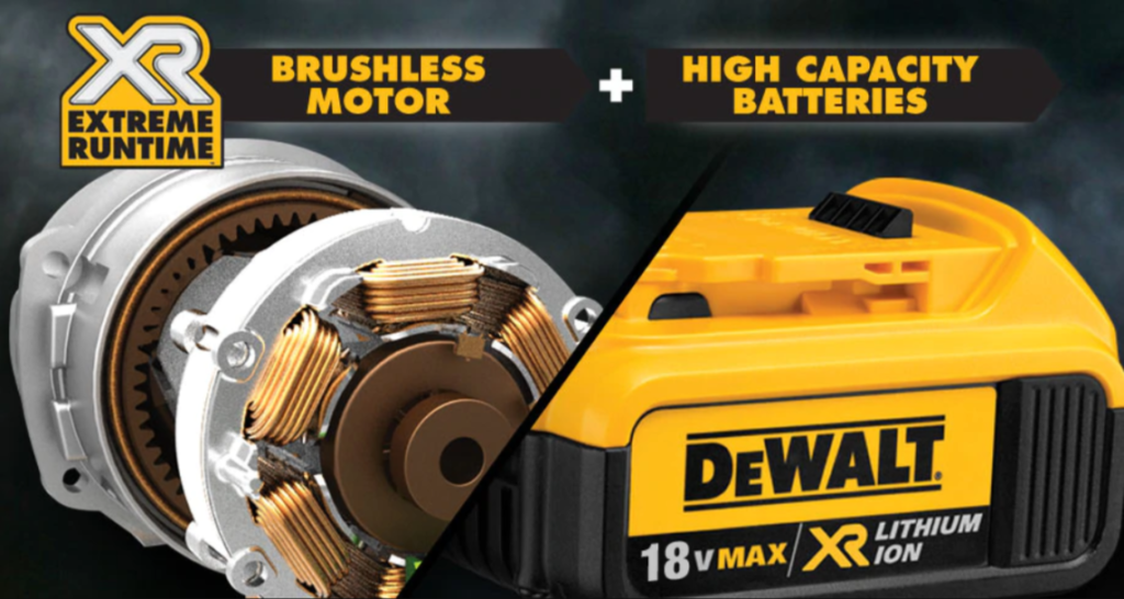 Moteur Brushless et Batterie Li-Ion